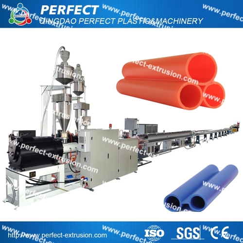HDPE Cable Protection Pipe Production Line Machinery