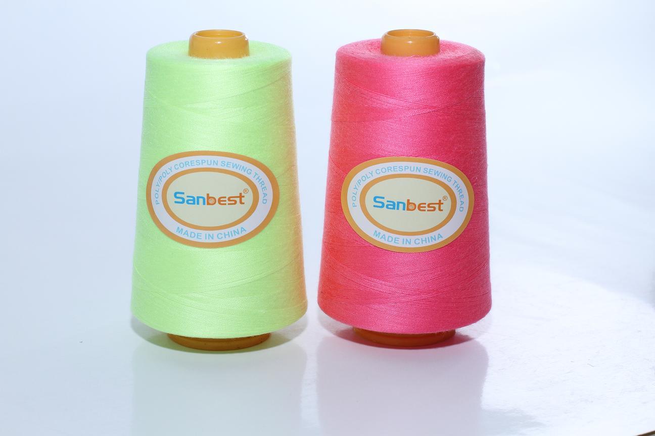 Poly/Poly Corespun Sewing Thread