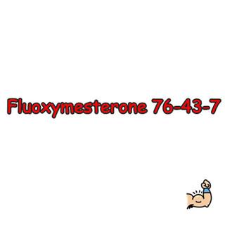 High Quality Fluoxymestero,Halotestin,Ultandren,CAS76-43-7, 99% purity powder on sale