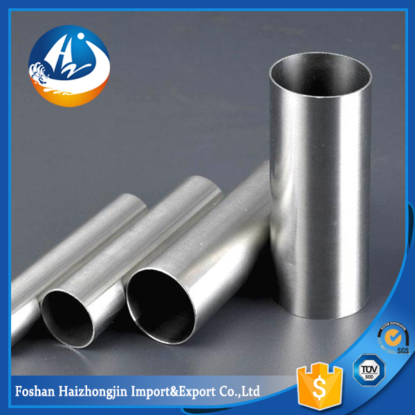 pvc coated stainless steel tube 201 grade pipe