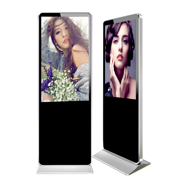 46 Inch Floor Stand LCD Advertising Display/Digital Signage with Touch Screen