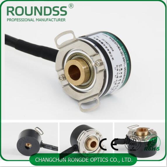 37mm outer diameter servo motor encoder rotary 2500 ppr 6 poles