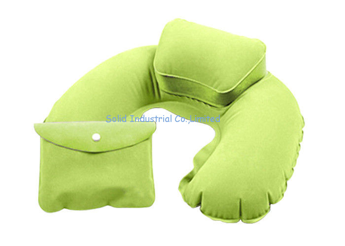 Special Design Inflatable Travel Neck Pillows With Pouch for Outdoor