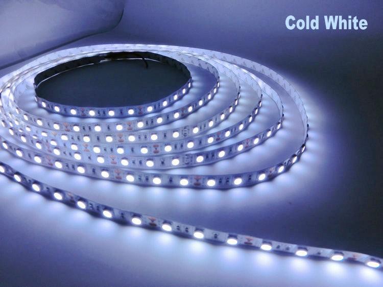 LED strip 5050 DC12V flexible light 60LED/m 5m/Lot,RGB/Pink//Purple/Ice Blue 5050 LED Strip