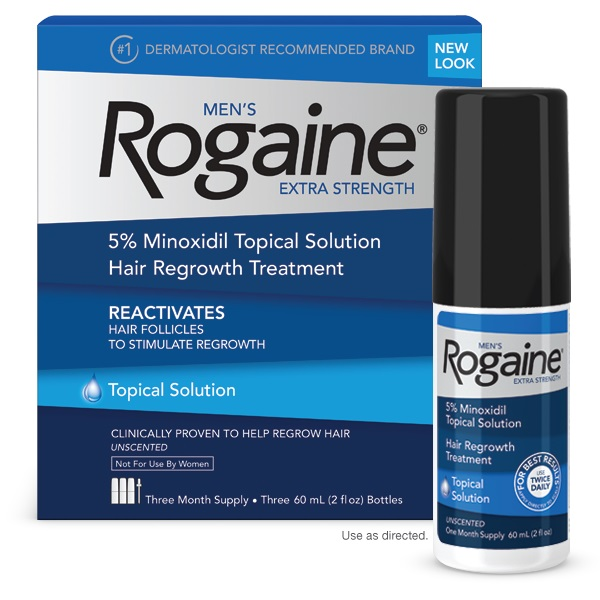 ROGAINE MINOXIDIL 5% LOTION (Same as Kirkland and Regaine) - 3 Month Supply