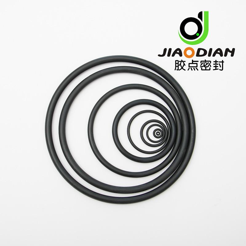 Black Rubber Seals O-Rings NBR 50sh to 90sh - Ningbo Jiaodian ...