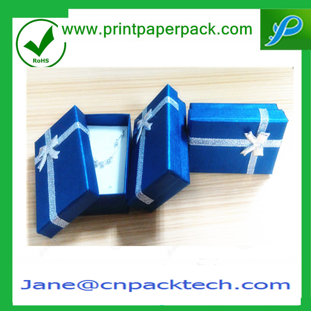 Custom Fashion Paper Jewelry Box Ring/Earring/Necklace/Bangle and Bracelet Boxes