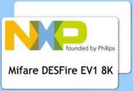 MIFARE DESFire 8K D80 card