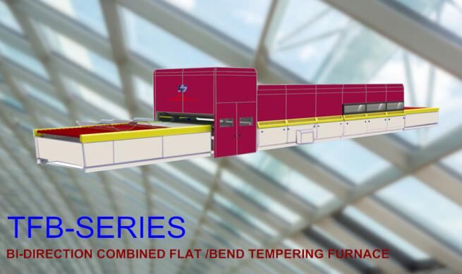 Bi-direction Combined Flat & bent Glass Tempering Furnace