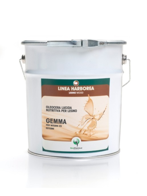 Nourishing Gloss-finish Wax Oil for Wood for Interiors and Exteriors