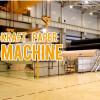 Running kraft paper making machine