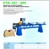 auotmatic drilling and stapling machine for louver