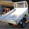 Aluminum ute truck bed tray body
