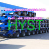 multi axles modular trailer with drop deck