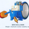 hydraulic control butterfly type check valve