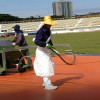 Spray-coat Running Track Installaiton