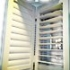 Hollow aluminum shutters energy-saving
