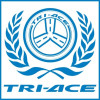 Tri-acebrand color smoke racing tyres for drfiting