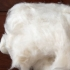 Dehaired cashmere fiber
