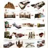 8 ft rotatry cutting wood peeling prodcution line