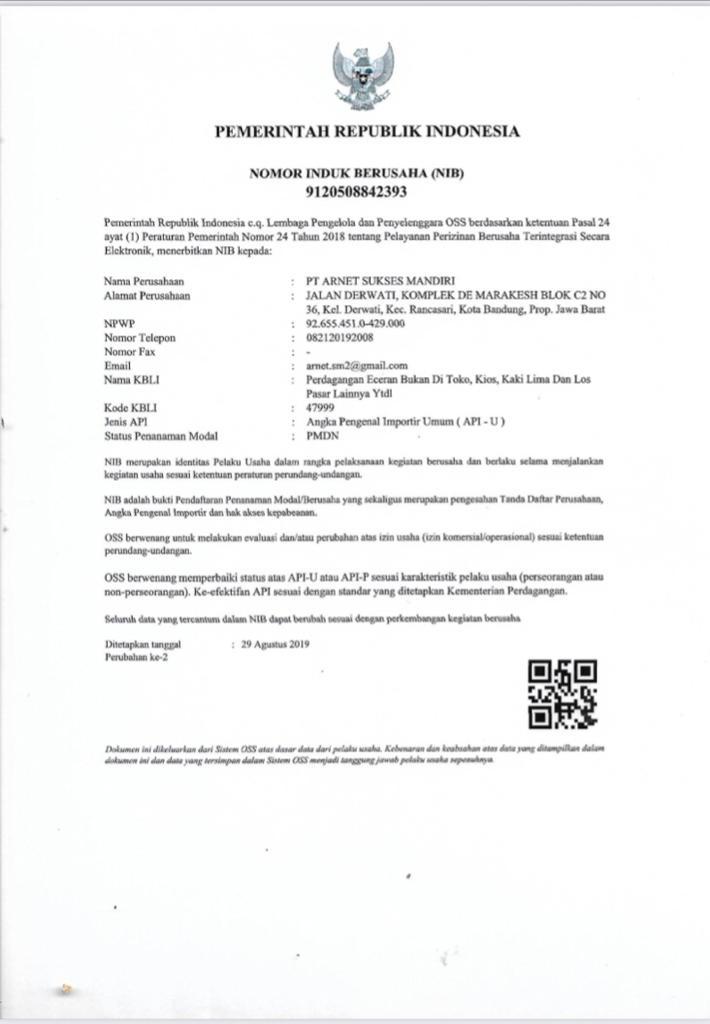 Trade Licence
