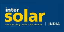 inter solar india 2018, logo