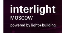 Interlight Moscow 2018, logo