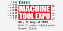 DELHI MACHINE TOOLS 2019, logo