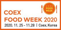 Coex Food Week 2020, logo