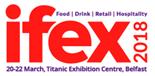 IFEX 2018,The Titanic Exhibition Centre logo