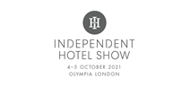 INDEPENDENT HOTEL SHOW - LONDON 2021, logo