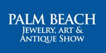 Palm Beach Jewelry, Art & Antique Show 2019,Palm Beach County Convention Center logo