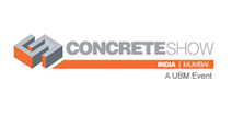 Concrete show india 2018, logo