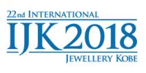 IJK 2018 - INTERNATIONAL JEWELLERY KOBE, logo