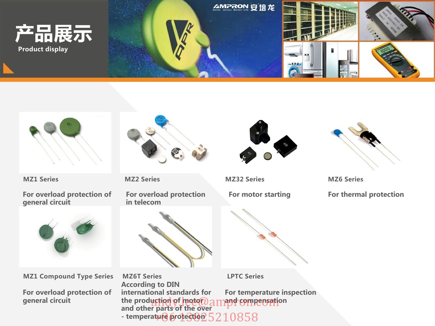 Mz32 Ptc Thermistor For The Motor Start Applied In Air Conditioner Circuit Off Starting Product Features 1 Mz32divided Into Three Typea Chip Typeb Housing Type C Coating 2 Withstanding Voltage120v 500v