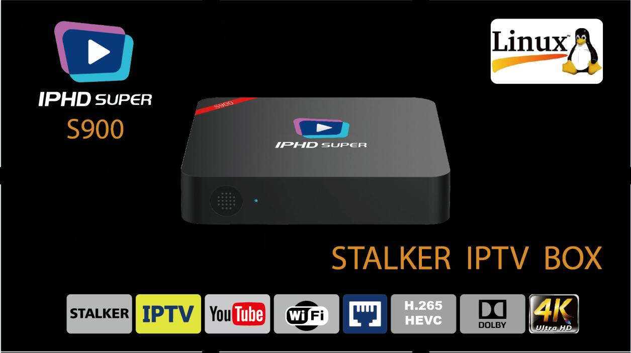 Linux IPTV box S900 support Stalker, LAN, AC-3, wifi, VOD