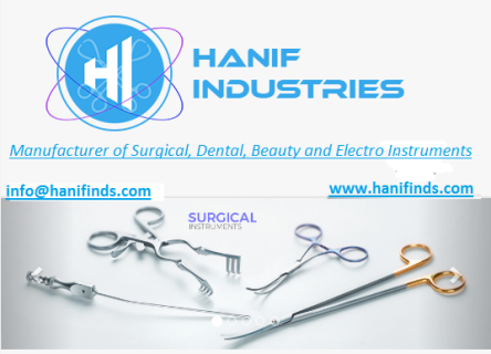HANIF INDUSTRIES logo