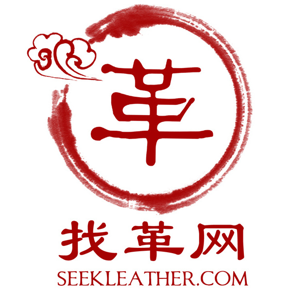 seek leather firm logo
