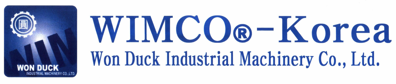 WIMCO-Korea(=Won Duck Industrial Machinery Co.,Ltd.) logo