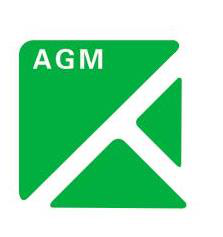 agm new building materials co.,lts logo