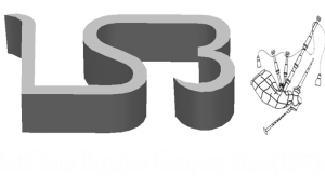 Latif Sons Bagpipes Company Since(1997). logo