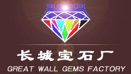 Great Wall Gems Factory (cubic zirconia heart & arrow cut, CZ star cut) logo