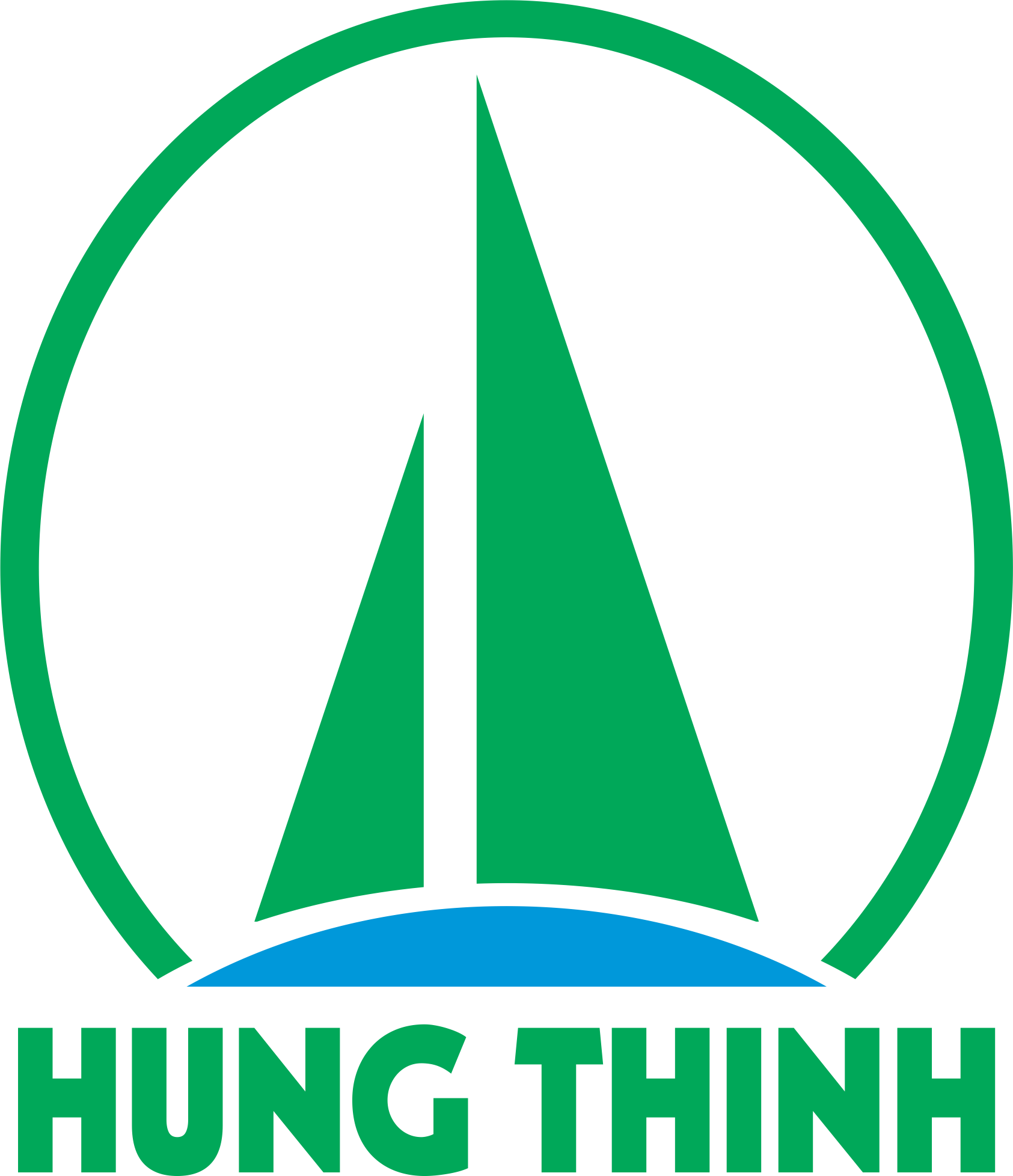 Hung thinh training and Trade company limited logo