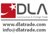 Dla Construction and Foreign Trade logo