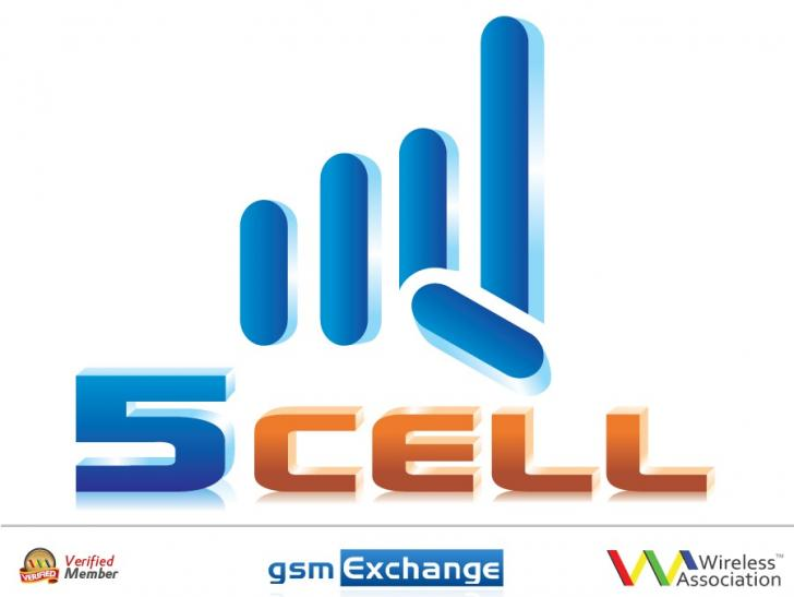 5 CELL HK logo