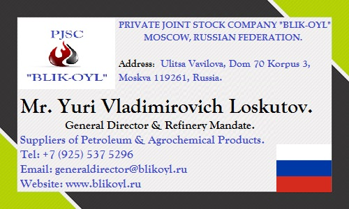 "PRIVATE JOINT STOCK COMPANY ""BLIK-OYL"" logo"