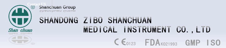 SHANDONG ZIBO SHANCHUAN MEDICAL INSTRUMENT CO.,LTD logo
