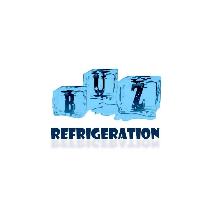 BUZREFRIGERATION COOLING SYSTEM logo