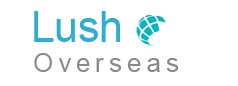 Lush Overseas logo