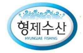 Hyungjae fishing logo
